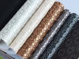 厂家直销 pu皮革面料 软包沙发硬包皮革 软包装饰材料 抽象花