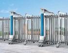 天津订做伸缩门厂家,塘沽安装不锈钢伸缩门,封闭式伸缩门