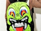 2014小丑双肩包时尚创意卡通书包街头潮牌男女包可爱舌头包