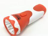 厂家直销 充电式led手电筒 礼品促销LED手电筒 强光手电筒