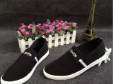 新款夏季 休闲男帆布鞋韩版潮流懒人鞋一脚蹬透气男板鞋 批发