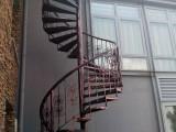 供应北京旋转楼梯整体楼梯楼梯扶手钢结构阁楼夹层护栏