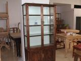 中式明清古典榆木仿古展示柜书柜茶叶柜摆饰 珠宝柜 实木展示柜