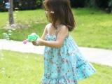 断码外贸童装 女童连衣裙 夏季儿童公主裙