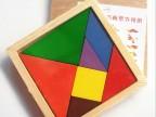 木质早教益智七巧板,经典的脑力开发玩具,儿童学习玩具批发1566