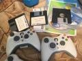 现出售XBOX360。游戏机。
