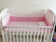 高档白色婴儿床-爱斯博儿品牌