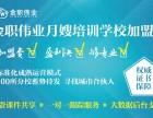 武汉东西湖区月嫂培训学校加盟