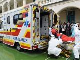 香港出入境救护车出租深圳市汕尾市广州市跨境香港救护车出租