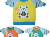 儿童小熊毛衣 批发小熊毛衣 外贸小熊毛衣