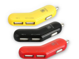 倍思双USB车载充电器手机充电器万能车充车载点烟器汽车电子电器