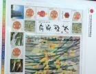 西安世界园艺博览会收藏版门票内含邮票送新加坡钱币