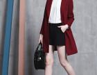 秋冬季较畅销韩版时尚潮款毛呢大衣批发货到付款较便宜服装货源网