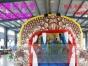2017新款充气恐龙滑梯儿童滑水大型水上乐园