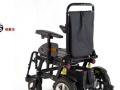 威之群1023-18带坐便器马桶折叠电动轮椅车