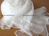 新款丝巾100%桑蚕丝丝巾真丝丝巾围巾批发丝巾杭州工厂白纯色