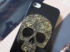 厂家直销热卖复古骷髅头iphone4 4S苹果5 手机壳 超薄保护套 外壳