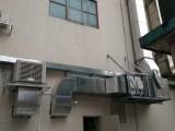 大朗纺织厂排气排尘降温负压风机工程专业安装