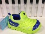 蓝猫品牌秋季儿童男童女童运动网鞋真皮时尚韩版童鞋皮鞋毛毛虫