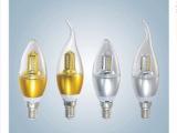 火热销售 LED 四面发光蜡烛灯 led