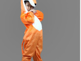 2014新款男女儿童幼儿园演出服卡通连体衣服饰狐狸动物表演服装