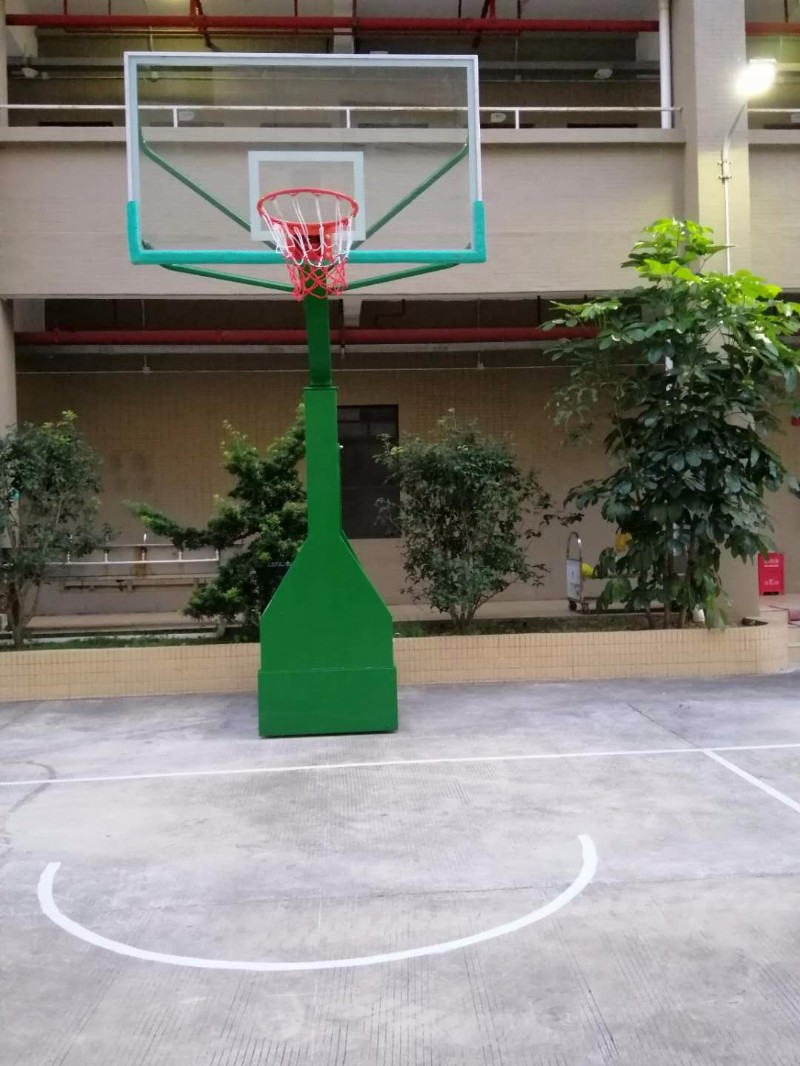 禅城篮球架维修上门安装方管丁字篮球架定制室外儿童篮球架
