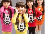 2014秋季新款童装韩版女童卡通亮片时尚百搭连衣裙打底T恤 打底