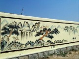 农家乐涂鸦,度假村壁画 度假村墙绘 度假村涂鸦彩绘