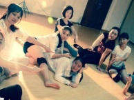深圳较强女子街舞培训团体招新学员中