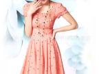 木石品牌折扣 正品13b715 夏季清爽女装品质舒适韩版连衣裙