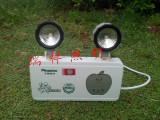 新国标拿双头消防应急照明灯可铁头灯LED光源带pi斯特旋转促销