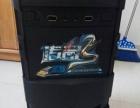 跑分13万高端i5四核8G内存固态盘游戏电脑卖