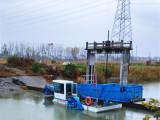 小型河道水草清理船 水葫芦打捞粉碎机械 广州机械化割草船