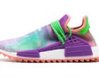 Adidas Pharrell菲董联名款水彩扎染运动鞋