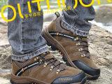 骆驼户外登山鞋男士反绒皮户外男鞋秋冬新款厂家批发