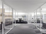 北京玻璃隔斷安裝 雙層鋼化玻璃隔斷安裝