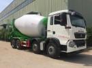 重汽豪沃T5G轻量化12方水泥搅拌车价格图片面议