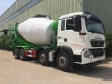 豪沃T5G轻量化12方水泥搅拌车价格配置参数