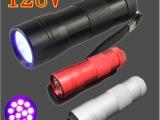 爆款手电筒 12led紫光手电筒 UV验钞灯 厂家现货批发