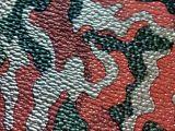 K1063现货供应,荔枝纹迷彩鞋材PU皮革,箱包手袋合成革