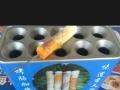 台湾美食鸡蛋烤肠