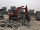 挖掘机出租上海卢湾区挖掘机出租混凝土破碎 场地平整
