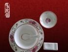 景德镇方形酒店摆台陶瓷餐具定做