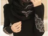 2014秋装新款女装韩版弹力修身蕾丝长袖圆领针织衫打底衫女毛衣厚