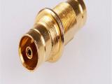 全铜电视信号放大器F座连接头 放大器配件公制