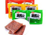 卫龙 亲嘴烧豆干 熟食豆干辣条豆腐干面筋 100片/盒 80后的
