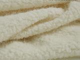 服装DIY布料 进口米杏色烟花绒毛毛呢绒 冬季大衣外套毛衣面料