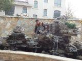 专业制作假山 水池喷泉 鲜花盆景