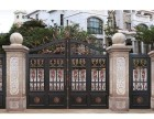 天津市定做高端别墅门 户外庭铝艺大门