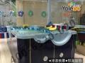 唐山经典婴儿游泳池厂家生产大拼接水育早教圆形儿童游泳池设备